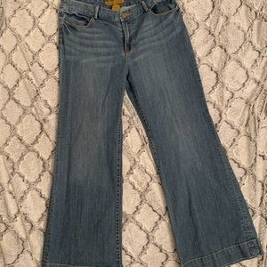 Seven7 Women's Flare Jeans Medium Wash Size 14